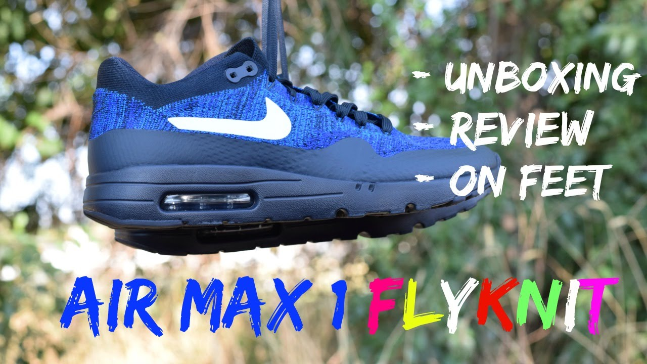 air max 1 ultra flyknit fit