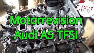 Motor Revision Instandsetzung Audi A5 2.0 TFSI CDN