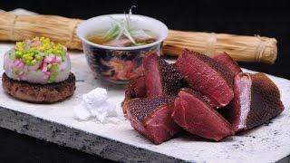 日本料理 龍吟 野鴨の炙り焼2012