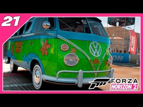 Forza Horizon 2 - #21 - Viajando na Kombi do Scooby-Doo  [Xbox One]