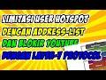 - Limitasi User Hotspot Mikrotik dengan Address List