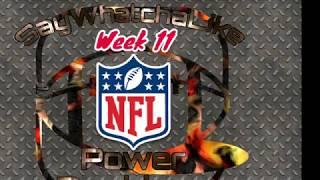 Week 11 Top 10 NFL Power Rankings