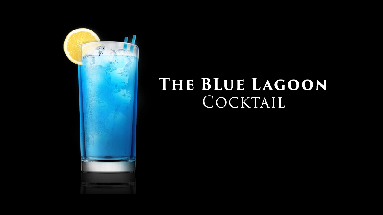 The blue lagoon cocktail youtube for Blue lagoon cocktail
