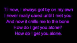 Alone Again - Alyssa Reid ft. P Reign with lyrics on screen! HQ