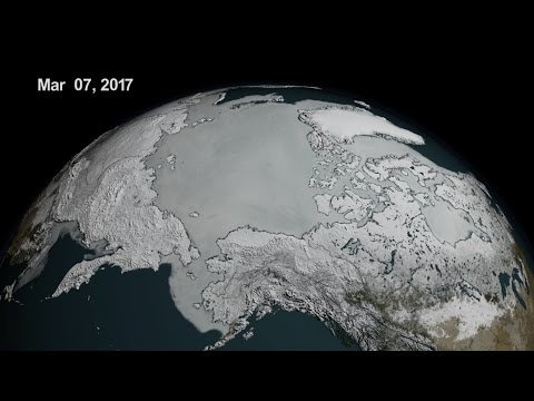 Arctic Sea Ice Reaches Another Record Low