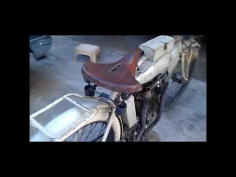 MOTOR TUA ANTIK tahun 1912 dan cara menghidupkannya