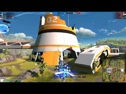 robocraft wing drone test