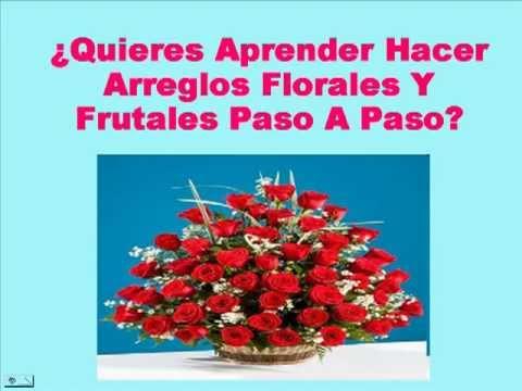 Aprende como hacer un arreglo floral paso a paso youtube - Arreglos florales naturales ...