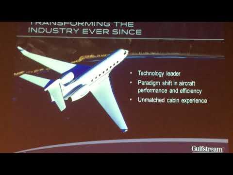 Gulfstream at NBAA 2017