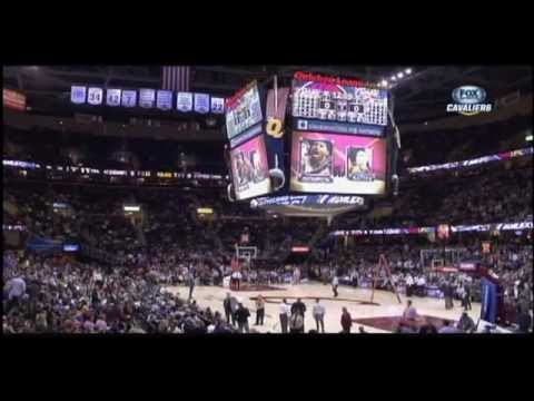 Cavaliers  Heat game delayed by scoreboard leaking at Quicken Loans Arena in Cleveland