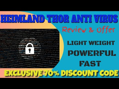 Heimland Thor Antivirus Review and Discount - Best, Lightweight Antivirus thumbnail