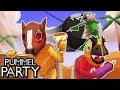 THIS IS MARIO PARTY FOR ADULTS! (Pummel Party Funny Moments)