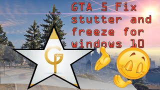 GTA 5 FIX STUTTER and FREEZE on PC *STILL WORKS 2017*- best solution working 100% works for ANY game