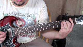 Queen - We Are the Champions - How to Play On Guitar - Guitar Lessons