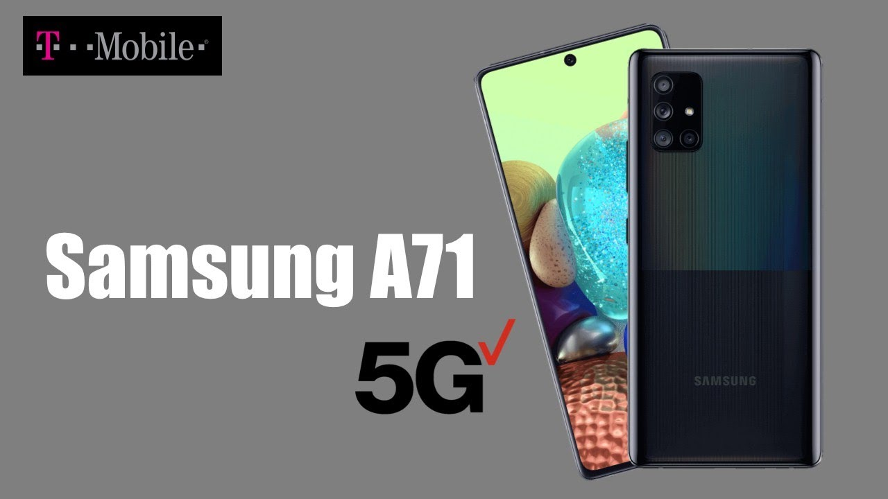 Samsung Galaxy A71 5G T-Mobile Official Release Date, Specs & Price