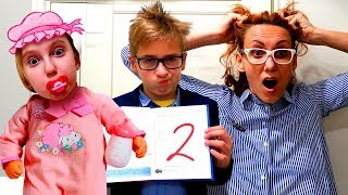 Мама и САДИК против ШКОЛЫ - Детский Скетч в реальной жизни - Back to School