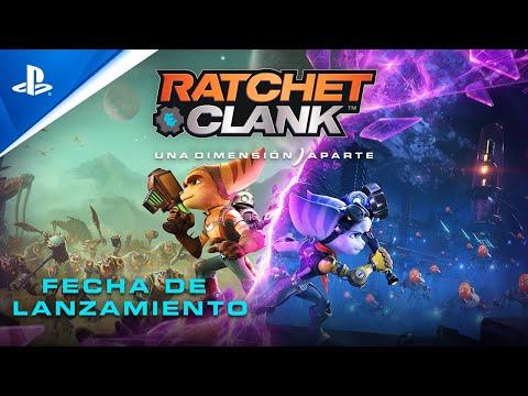 RATCHET & CLANK: UNA DIMENSIÓN APARTE - Tráiler PS5 Fecha de lanzamiento | 4K | PlayStation España