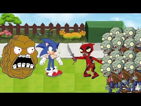 Plants Vs Zombies GW Animation - Episode 18 - Sonic Vs Zombie Deadpool