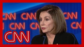 Nancy Pelosi responds to Trump calling her 'nervous'