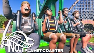 "#1【steam】わいわいの""遊園地作ろっ!""【PlanetCoaster】"
