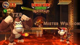 Let's Play Donkey Kong Country Returns Part 11: Langsam wird es Heikel.