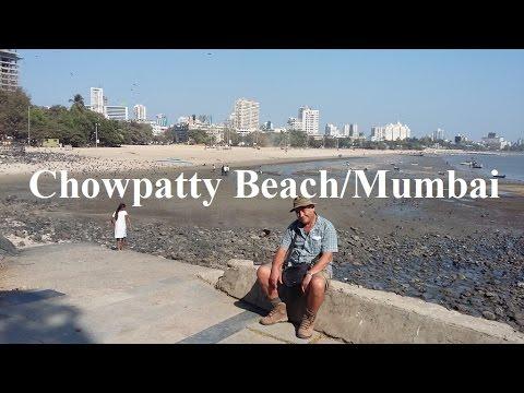 India/Mumbai (Chowpatty Beach & Skyline ) Part 13 (HD)