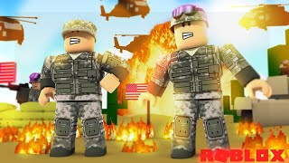 Roblox - RoPo & BABY DUCK'S ARMY DEFEAT DONUT THE DOG & BABY MAX