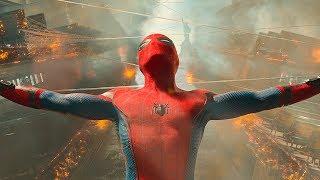 Человек Паук пытается спасти Людей на пароме. Человек-паук: Возвращение домой. 2017