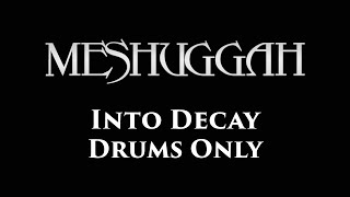 Meshuggah Into Decay DRUMS ONLY