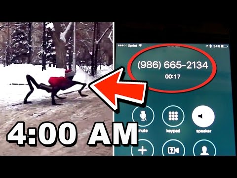 NEVER CALL THIS PHONE NUMBER AT 4:00 AM (MUST WATCH)