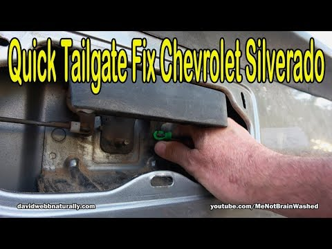 Quick Tailgate Fix 2007 Chevrolet Silverado – DIY