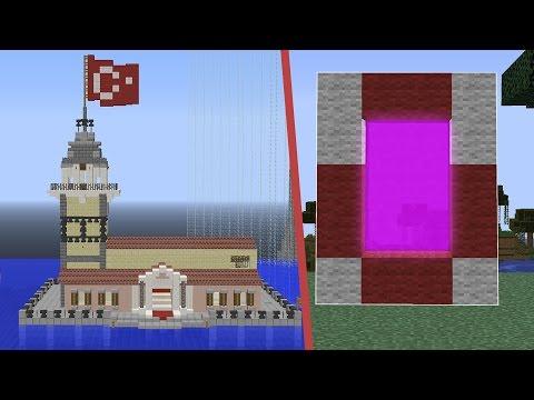MİNECRAFTTA  İSTANBUL DÜNYASI PORTALI ! - Видео из Майнкрафт (Minecraft)