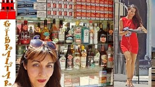 My Life in Gibraltar, Main Street Shopping, Cigarettes and Spirits Prices