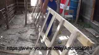 Как изготовить БОЛЬШУЮ лестницу(Как быстро изготовить большую и удобную лестницу. По которой можно будет удобно забираться на крышу, или..., 2014-09-02T03:25:20.000Z)