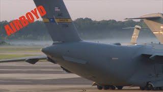 C-17 Globemaster Operations At Charleston