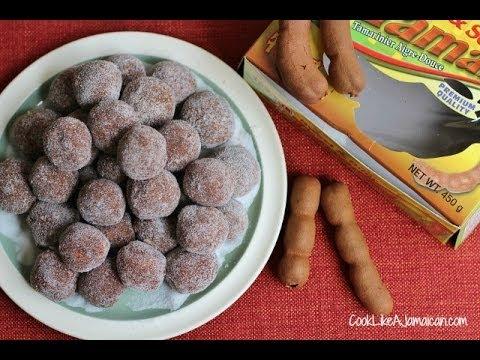 Jamaican Tamarind Balls Recipe