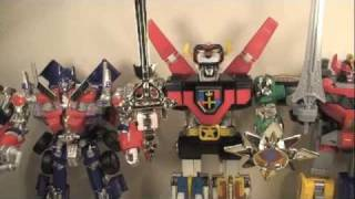 Voltron Die-Cast Lion Force Gift Set Action Figure Combiner Toy Review