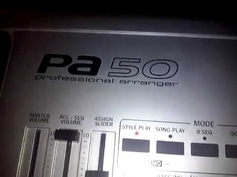 Korg PA50 USB