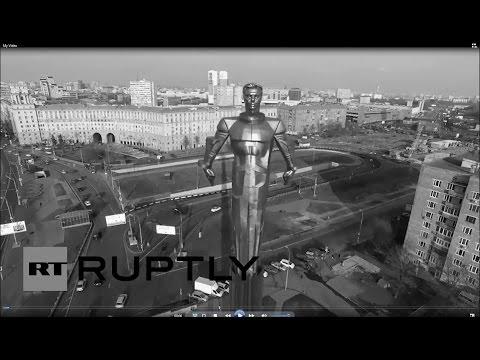 Yuri Gagarin, the first man in space