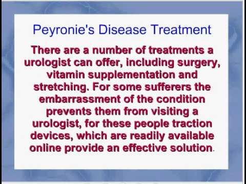 Peyronie disease and viagra