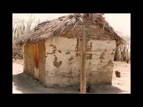 Casas de teja maní, de San Simón