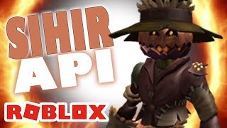 ROBLOX INDONESiA | The POWER of the Witch fire on ROBLOX 😂