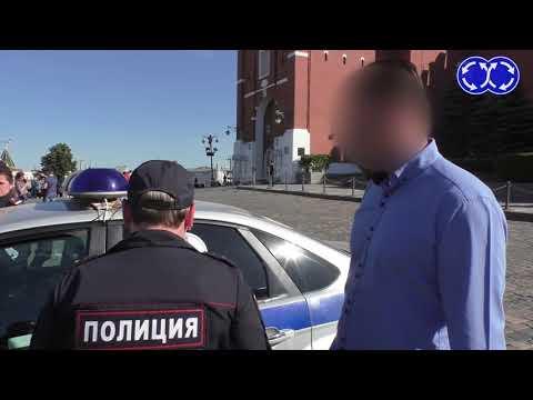 10 минут в центре Москвы. #мвд #полиция #гаи