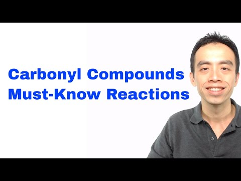 Must-Know Carbonyl Compound Reactions. Organic Chemistry