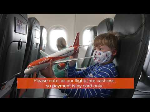 Flying with easyJet - On board