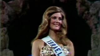 1973 Miss Universe: Evening Gowns