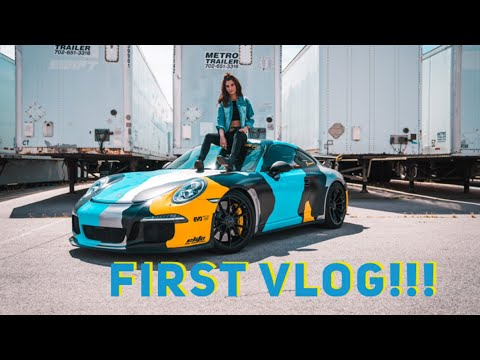 MY FIRST VLOG *CRAZY SUPERCAR RALLY*