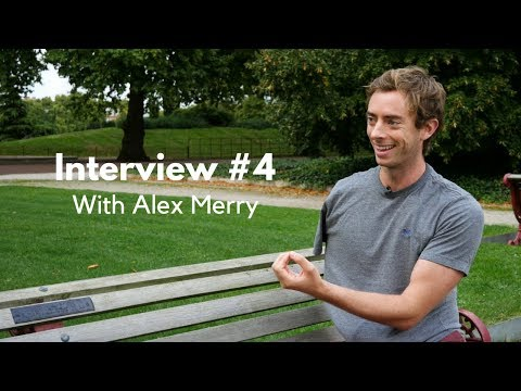 Interview #4: Talking mental health, fear and self-talk with Alex Merry