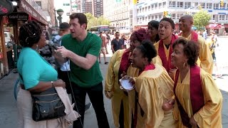 Billy on the Street: Gospel Choir Lightning Round