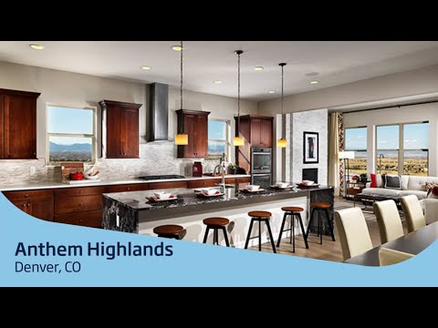 Anthem Highlands | Denver, CO | Home Tour - YouTube